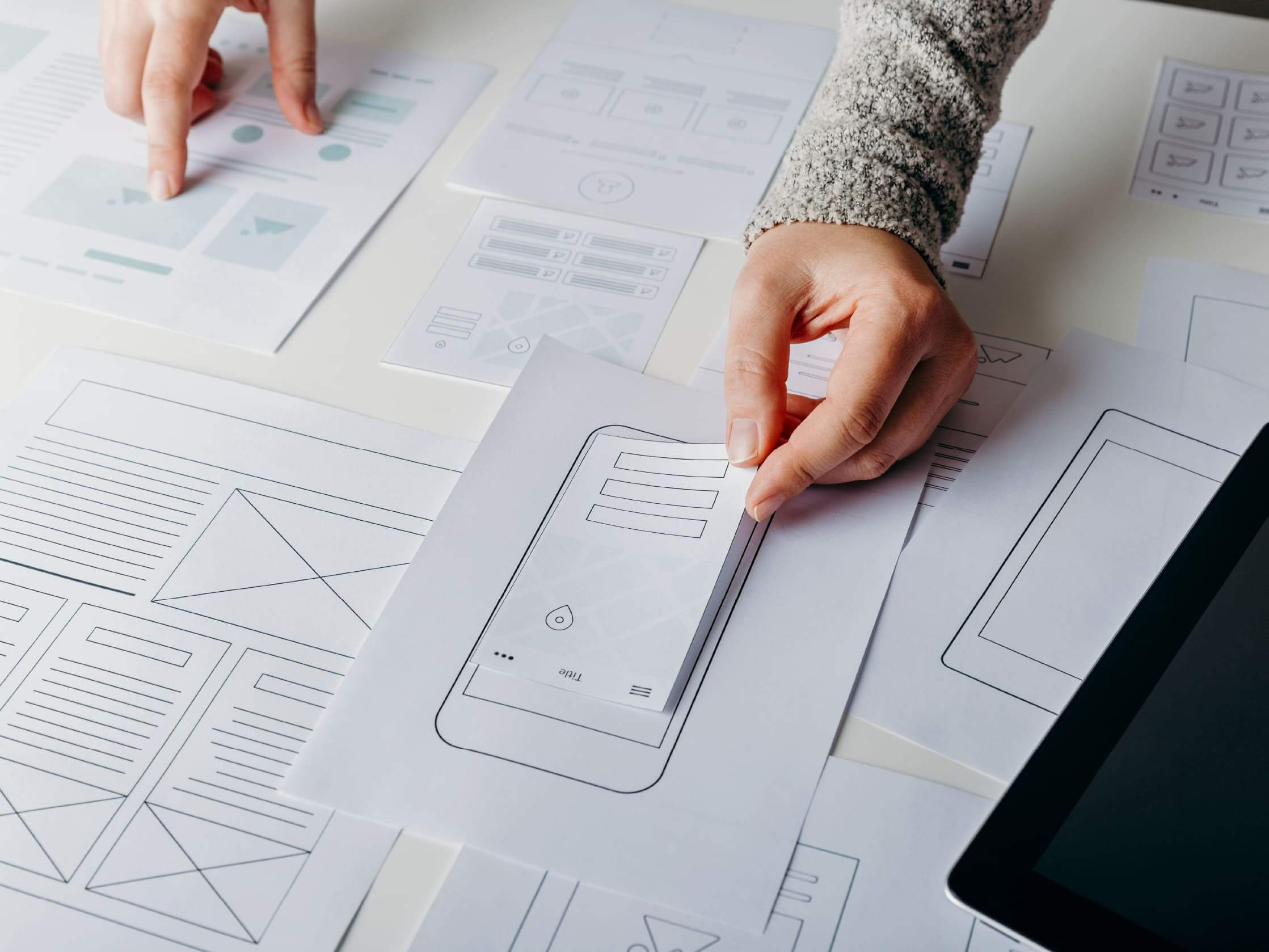 Design-wireframes
